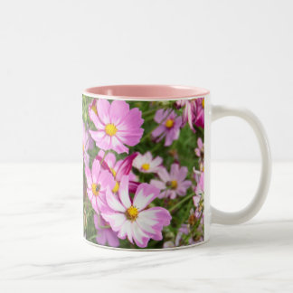 Cosmos Flower (Bidens Formosa). Kirkwood Two-Tone Coffee Mug