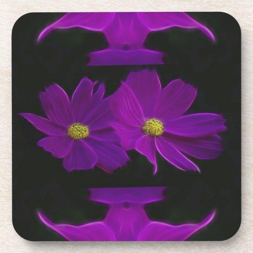 Cosmos flower coaster