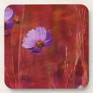 Cosmos Flower Gifts Drink Coaster
