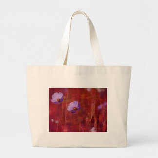 Cosmos Flower Gifts Large Tote Bag