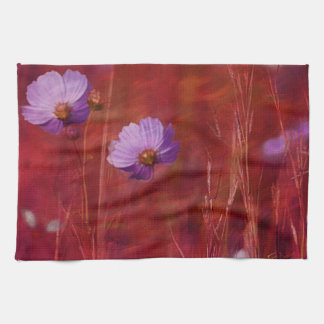 Cosmos Flower Gifts Towel