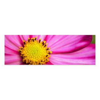 Cosmos Flower Skinny Business Card / Mini Bookmark