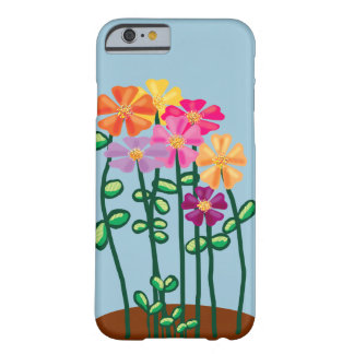 Cosmos flowers barely there iPhone 6 case