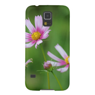 Cosmos Flowers Galaxy S5 Cases