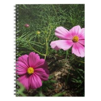 Cosmos Flowers Notebook
