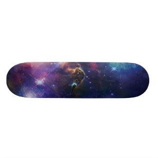 Cosmos Galaxies Skateboard