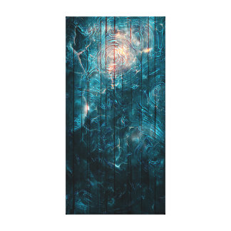 Cosmos Gallery Wrapped Canvas