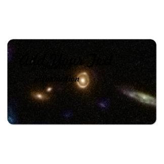 COSMOS Gravitational Lens 0038+4133 Business Card Templates