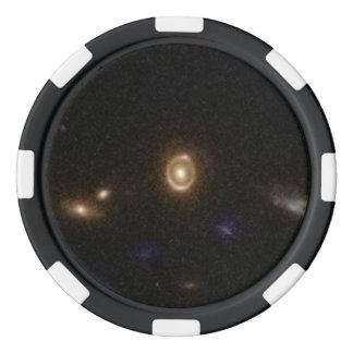 COSMOS Gravitational Lens 0038+413 Set Of Poker Chips