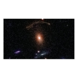 COSMOS Gravitational Lens 0211+1139 ai Business Card