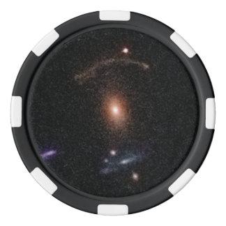 COSMOS Gravitational Lens 0211+1139.ai Poker Chip Set