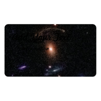 COSMOS Gravitational Lens 0211+1139 Business Card Template