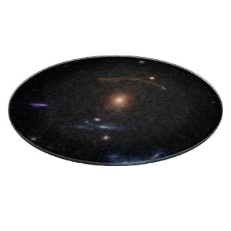 COSMOS Gravitational Lens 0211+1139 Cutting Boards