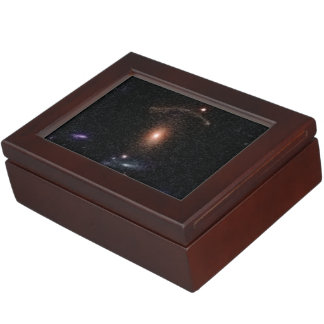 COSMOS Gravitational Lens 0211+1139 Keepsake Box