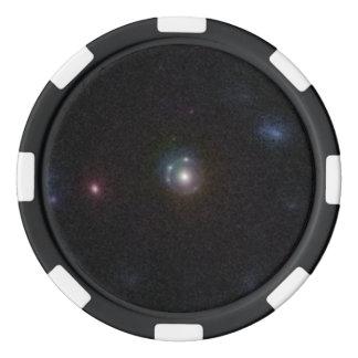 COSMOS Gravitational Lens 5921+0638 Poker Chips Set