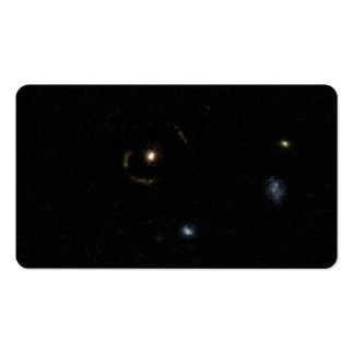 COSMOS Gravitational Lens Business Card Template