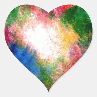 Cosmos Heart Sticker