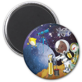 cosmos imán redondo 5 cm