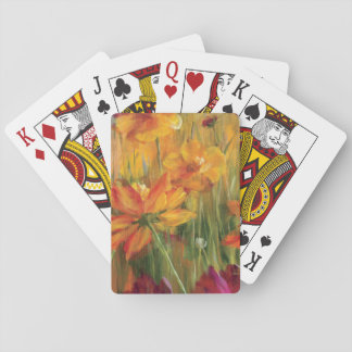 Cosmos in the Field Playing Cards