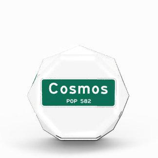 Cosmos, marcador del camino, Minnesota, los E.E.U.