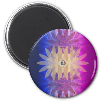 Cosmos Merging 2 Inch Round Magnet