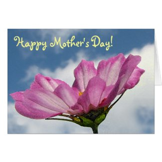 Cosmos Mother's Day Card