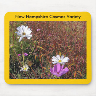 Cosmos, New Hampshire Cosmos Variety Mouse Pad