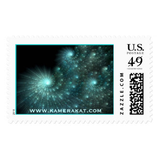 Cosmos Postage Stamp