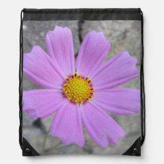 Cosmos Purple Flower Backpack