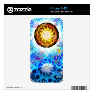 Cosmos Skin For iPhone 4