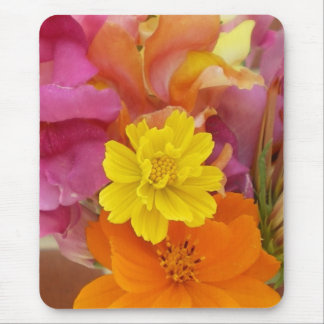 Cosmos/Snapdragon Bouquet Mouse Pad