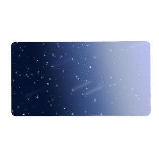 Cosmos Storm Label