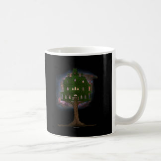 Cosmos Tree House Coffee Mugs