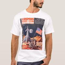 Cosmos v01 n01 (1953-09.Star)_Pulp Art T-Shirt