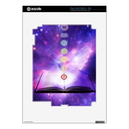 cosmos violeta del ser humano del extracto del uni iPad 2 skins