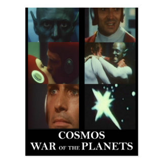 Cosmos: War of the Planets Gear Postcard