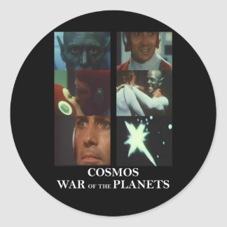 Cosmos: War of the Planets Gear Classic Round Sticker