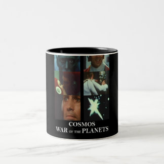 Cosmos: War of the Planets Gear Two-Tone Coffee Mug