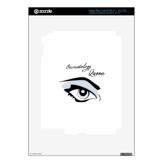 Cosmotology Queen Skins For iPad 3