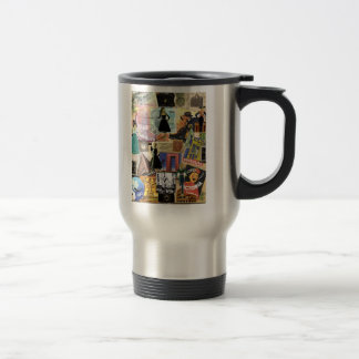 Cosmpolition Woman 15 Oz Stainless Steel Travel Mug