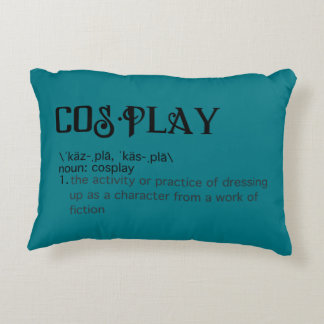 Cosplay Definition Pillow