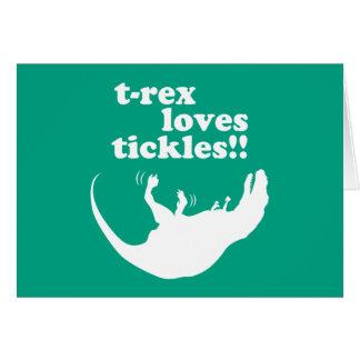 ¡Cosquillas de los amores de T-Rex