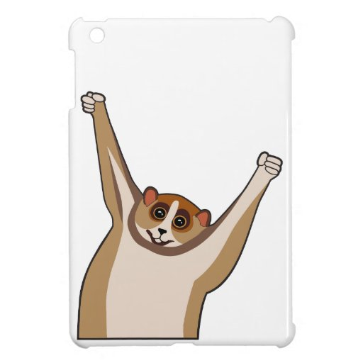 Cosquillas lentas 1 de Loris iPad Mini Protector