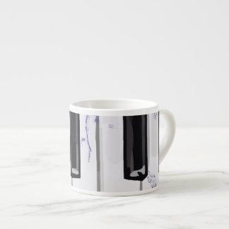 Cosquillee el piano de marfil taza espresso