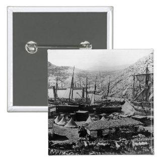 Cossack Bay, Crimea, c.1855 Button