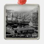 Cossack Bay, Crimea, c.1855 Christmas Ornaments