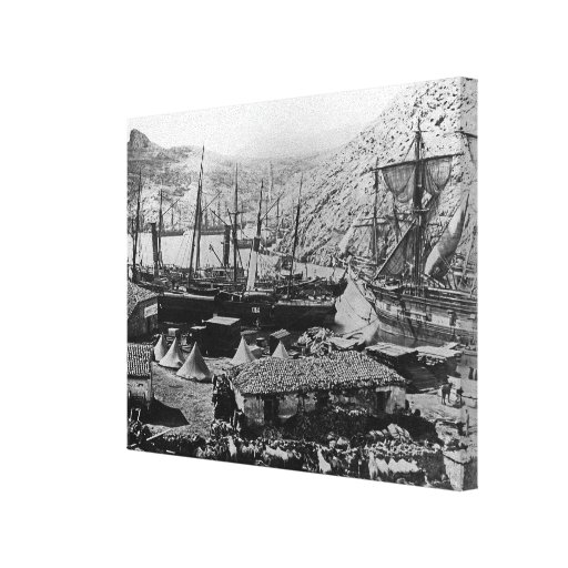 Cossack Bay, Crimea, c.1855 Gallery Wrapped Canvas