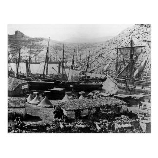 Cossack Bay, Crimea, c.1855 Postcard