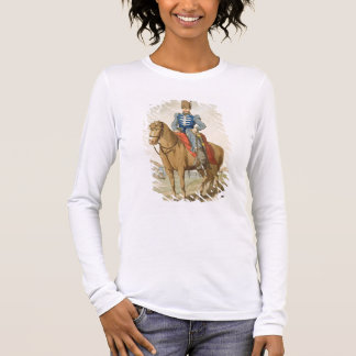 Cossack Officer, etched by the artist, published 1 Long Sleeve T-Shirt