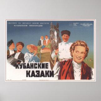 Cossacks of the Kuban USSR Movie 1950 Print